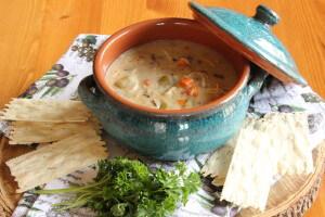 Creamy Chicken Wild Rice Soup