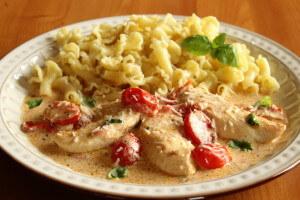 Pesto Creamy Chicken