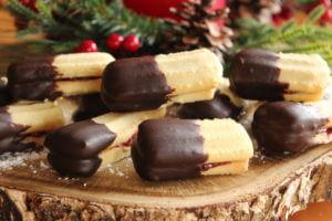 VANILLA CHOCOLATE BARS
