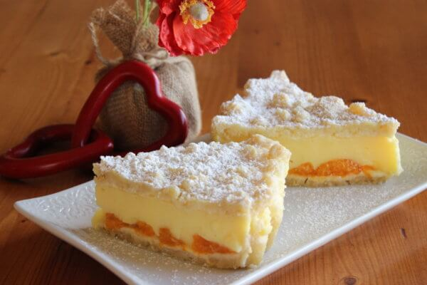 CRUMB CAKE WITH PUDDING