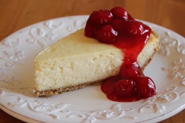 American classic cheesecake