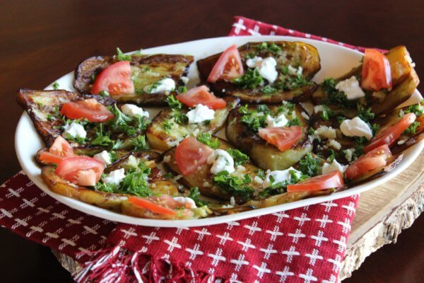 Eggplant Appetizers