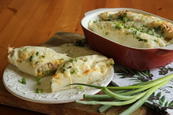 BAKED TORTILLAS WITH TUNA