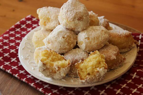 Mini cheese donuts