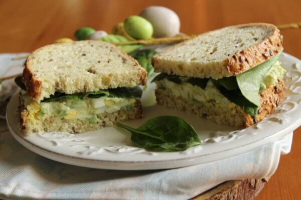 Avocado Egg Spread